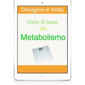 dieta di base del metabolismo